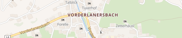 Karte Hotel Dorfplatzl Tux