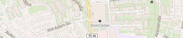 Karte Parkhaus SteinCenter Freising