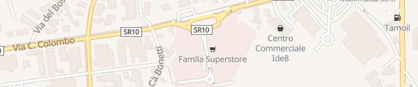 Karte Famila Superstore Monselice