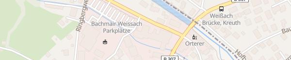 Karte Spa & Resort Bachmair Weissach Rottach-Egern
