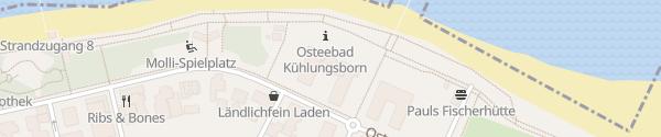 Karte Travel Charme Ostseehotel Kühlungsborn