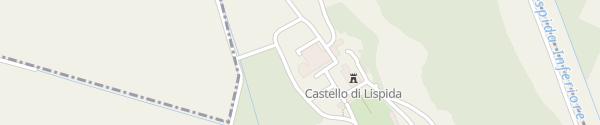 Karte Castello di Lispida Monselice