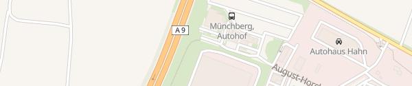 Karte Tesla Supercharger Münchberg