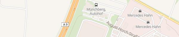 Karte Euro Rastpark Münchberg