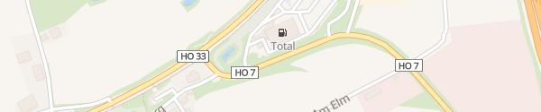 Karte Autohof Bayerisches Vogtland Selbitz