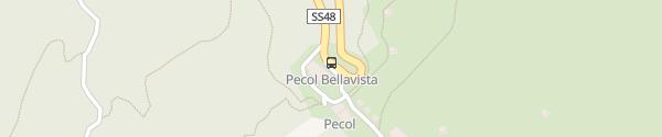 Karte Hotel Bellavista Canazei