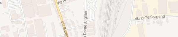 Karte Bahnhof Cittadella