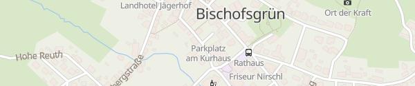 Karte Kurhaus Bischofsgrün
