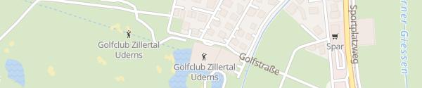 Karte Sportresidenz Zillertal Uderns