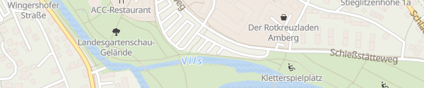 Karte Parkplatz Feuerwache Amberg