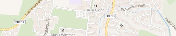 Karte Geschwister-Scholl-Straße Glonn