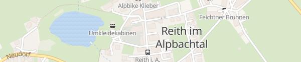 Karte Gemeindeamt Reith im Alpbachtal