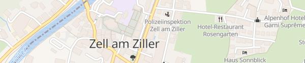Karte Das Posthotel Zell im Zillertal