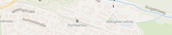 Karte Bahnhof Fischbachau