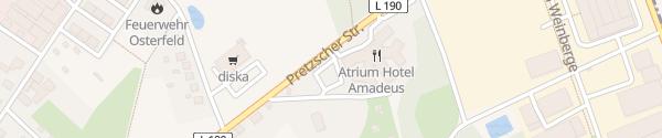 Karte Hotel Amadeus Osterfeld