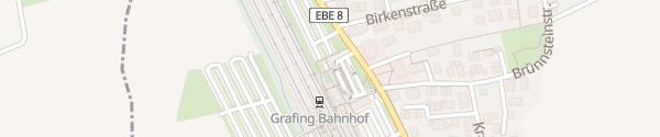 Karte Parkplatz Bahnhof Grafing