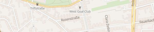 Karte Rosendachs-GbR Halle (Saale)