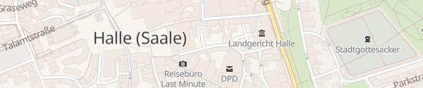Karte Ratshof Halle (Saale)
