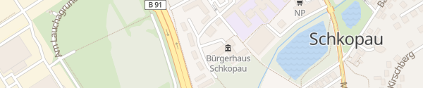 Karte Rathaus Schkopau