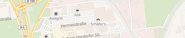 Karte Edeka Center Halle (Saale)