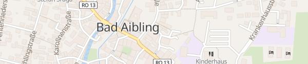 Karte Hotel Lindner Bad Aibling