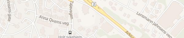 Karte Circle K Arkoveien Kongsvinger