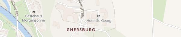 Karte Hotel St. Georg Bad Aibling