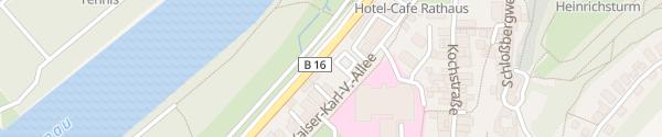 Karte Kaiser-Karl-Vl-Allee Bad Abbach