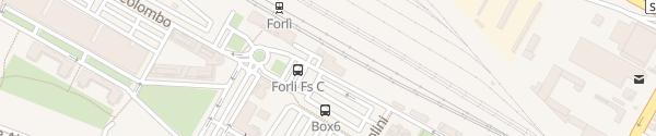 Karte Enel Drive Säule Forlì