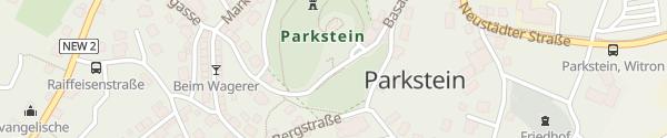 Karte Schönster Basaltkegel Europas Parkstein