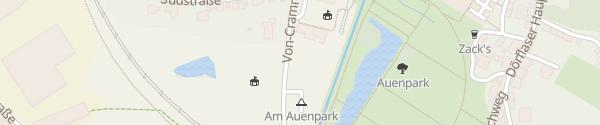 Karte Wohnwagenplatz Marktredwitz