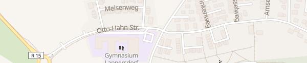 Karte Parkplatz Gymnasium Lappersdorf