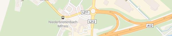 Karte MPreis Langkampfen