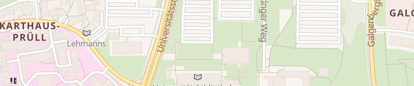 Karte Parkplatz P2 Universität Regensburg