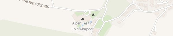 Karte Hotel Alpen Tesitin Tesido
