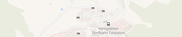 Karte Edelweisshaus Wald im Pinzgau