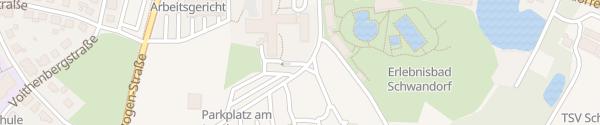 Karte Landratsamt Schwandorf
