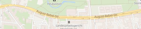 Karte Parkhaus Am Gericht Rostock