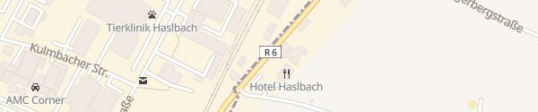 Karte Hotel Haselbach Regensburg