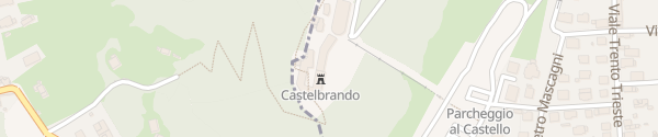 Karte CastelBrando Hotel Cison di Valmarino