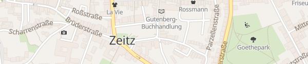 Karte Altmarkt Zeitz