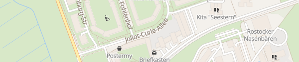 Karte Joliot-Curie-Allee Rostock