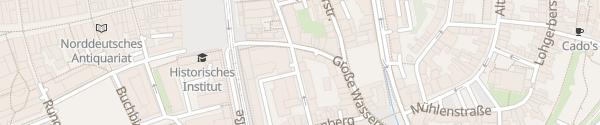 Karte rostock apartment LIVING HOTEL Rostock