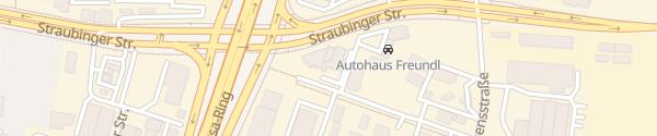 Karte Auto-Landsmann Regensburg