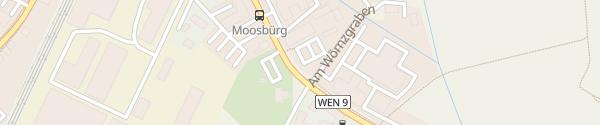 Karte Bayernwerk Netzcenter Weiden in der Oberpfalz