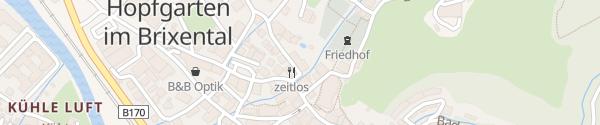Karte Appartement Brixental Hopfgarten-Markt