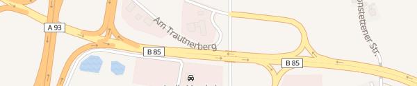 Karte OMV Tankstelle Wackersdorf