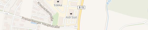 Karte ALDI Süd Kumhausen