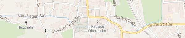 Karte Rathaus Oberaudorf