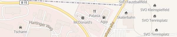Karte Schnellladesäule McDonald's Obertraubling